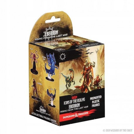 DnD: Icons of the Realms Monster Menagerie Figure (4 figures)