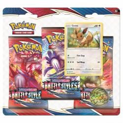 Pokemon TCG: Battle Styles SWSH 5.0 3PK Blister Eevee [POK80822]