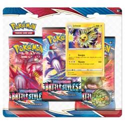 Pokemon TCG: Battle Styles SWSH 5.0 3PK Blister Jolteon [POK80822]