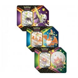 Pokemon TCG: 4.5 Shining Fates V Tin Zestaw x 3 [POK80870]