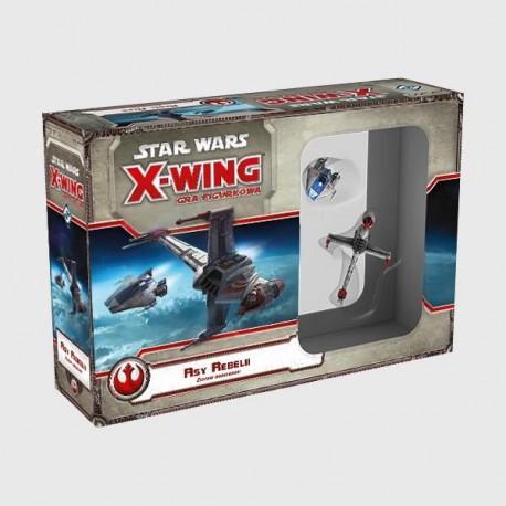 X-Wing Gra Figurkowa - Asy Rebeli - zestaw dodatkowy