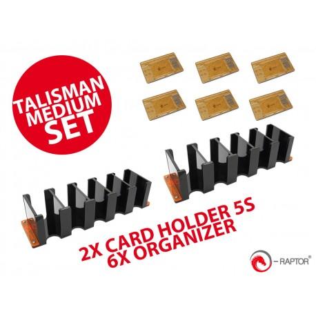 ZESTAW1 e-Raptor Talisman Medium Set (nowa edycja)  (podajnik x2 z organizer x6)