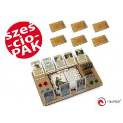 ZESTAW2 e-Raptor Talisman Mini Set (nowa edycja) (organizer x6)