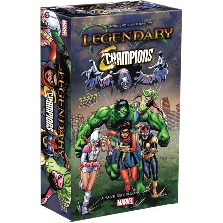 Legendary: A Marvel Deck Building Game - Champions Expansion