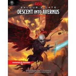 DnD: Baldur's Gate: Descent into Avernus Adventure Book - ENG