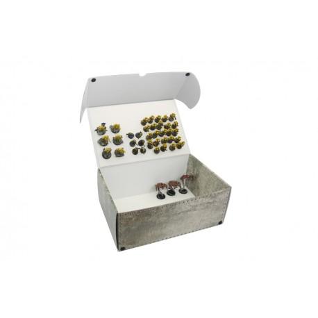 Mega pudełko na modele ze zmagnesowanymi podstawkami (2 płyty magnetyczne)
