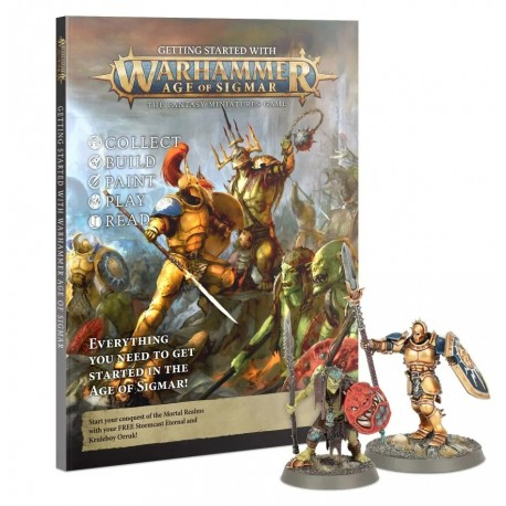 Getting Started with Warhammer Age of Sigmar 3ed
