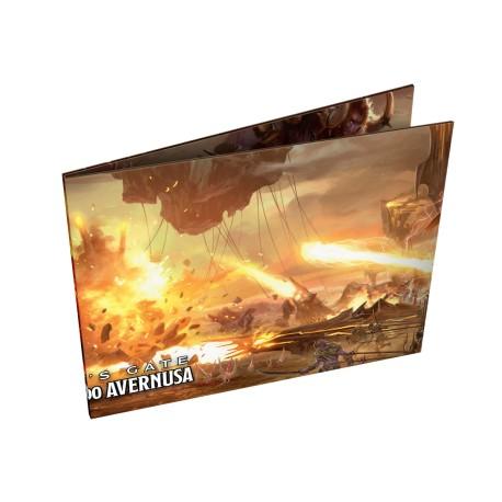 DnD: Dungeon:  Baldur's Gate - Zstąpienie do Avernusa - Ekran Mistrza Podziemi