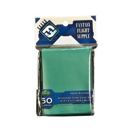 Standard Card Game Sleeves Green FFG