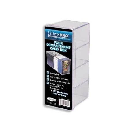 Pudełko akrylowe na karty czteroczęściowe