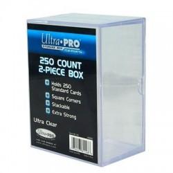Pudełko na 250+ kart dwuczęściowe (akrylowe Ultra Pro)