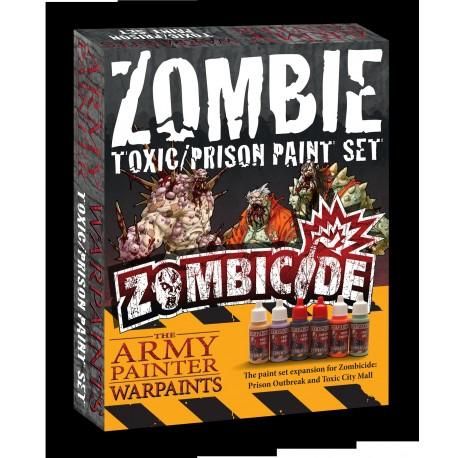Army Painter Zombicide: Toxic/prison Paint Set