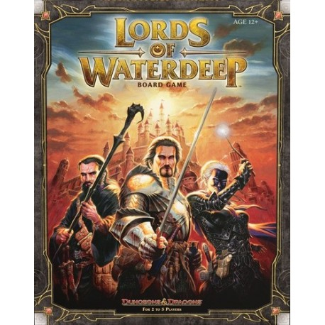 DnD: Lords of Waterdeep Board Game