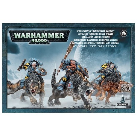 Space Wolves Thunderwolf Cavalry