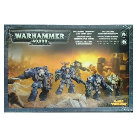 S/Marine Terminator Close Combat Squad