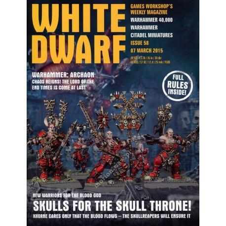 White Dwarf Weekly 58 (English)
