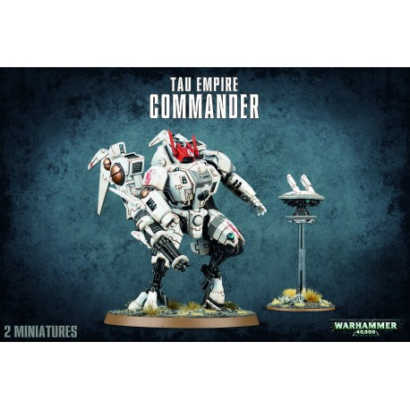 Tau Empire Commander / XV86 Coldstar Battlesuit