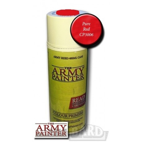 Army Painter Primer Pure Red (spray)
