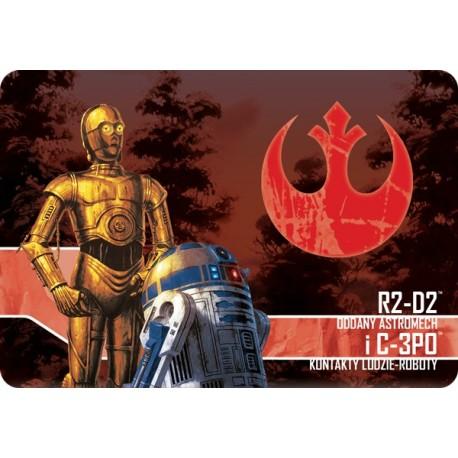 Imperium Atakuje: R2D2, Oddany astromech i C3PO, Kontakty ludzie roboty
