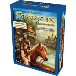 Carcassonne Karczmy i katedry (druga edycja)